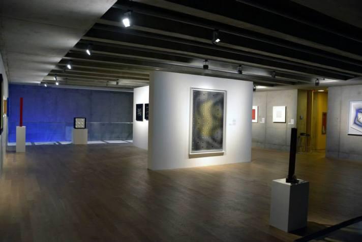 vistas de salas de exhibición